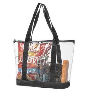 Handbags - Clear Vinyl Tote Bags Shoulder Handbag For Stadium